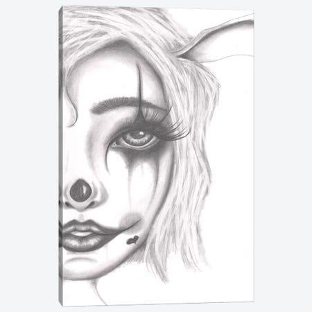 Clown Canvas Print #DGL50} by Dottie Gleason Canvas Print