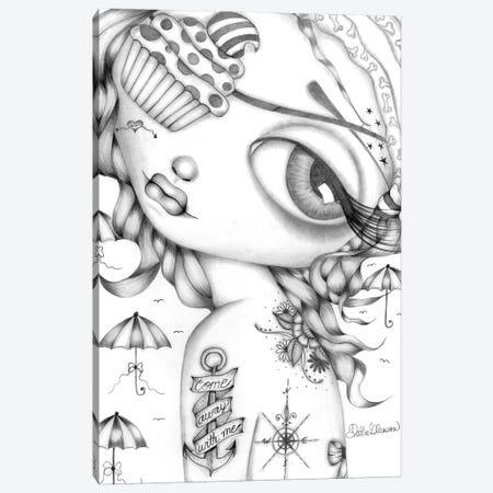 Come Away With Me Canvas Print #DGL53} by Dottie Gleason Canvas Print