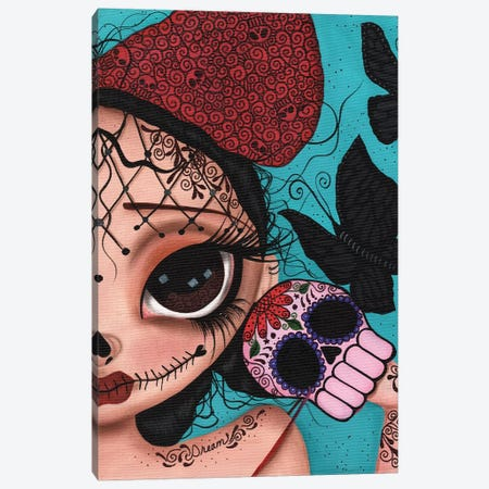Dare To Dream Canvas Print #DGL57} by Dottie Gleason Canvas Artwork
