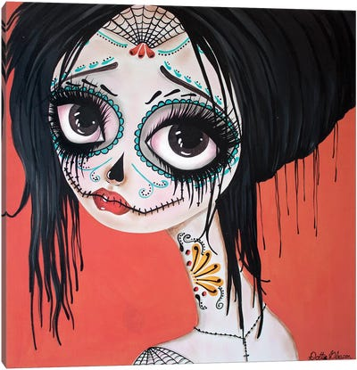 Day Of The Dead #10 Canvas Art Print