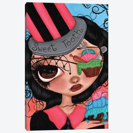 I Love Cupcakes Canvas Print #DGL90} by Dottie Gleason Canvas Art Print