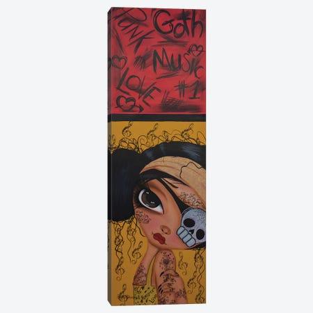 Jade Punk World Canvas Print #DGL94} by Dottie Gleason Canvas Art