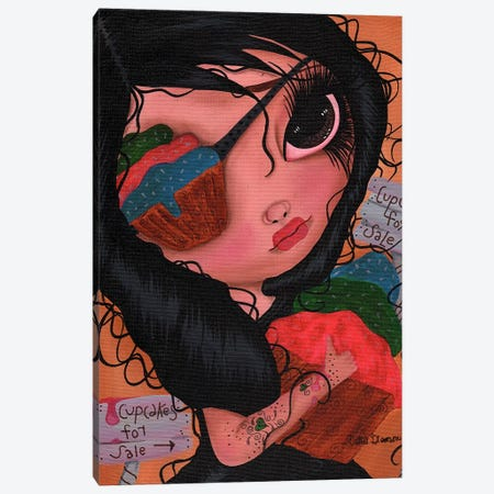 Juliet Canvas Print #DGL98} by Dottie Gleason Art Print
