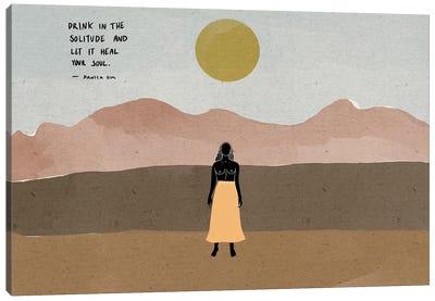 Solitude Canvas Art Print