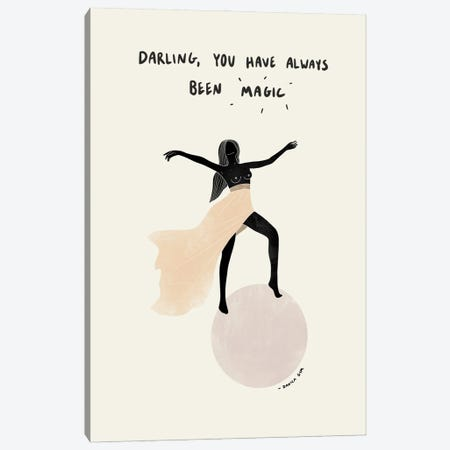 You Are Magic Canvas Print #DGM47} by Danica Gim Canvas Wall Art