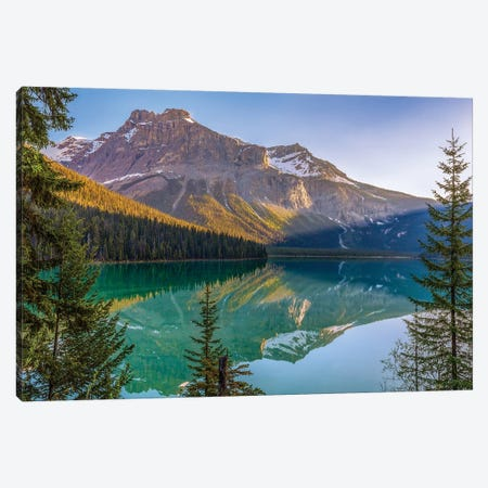 Eternal Canvas Print #DGO12} by Dave Gordon Canvas Wall Art