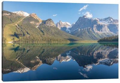 Glacial Majesty Canvas Art Print