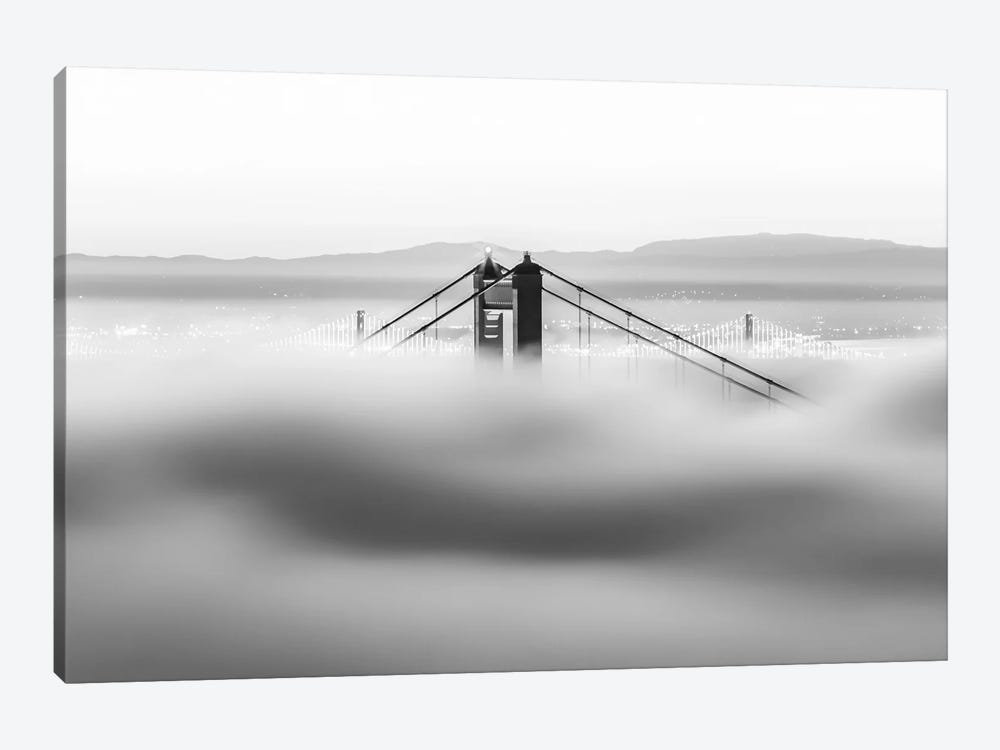 Across The Bay by Dave Gordon 1-piece Canvas Wall Art