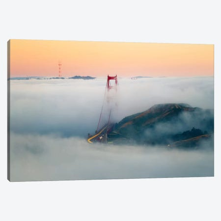 Breakthrough Canvas Print #DGO3} by Dave Gordon Canvas Wall Art