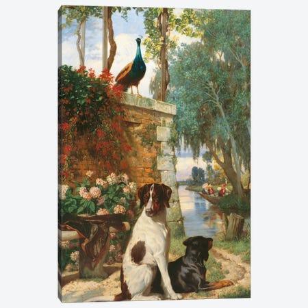 Panneau Décoratif Aux Chien Et Canvas Print #DGS2} by Charles Dugasseau Art Print
