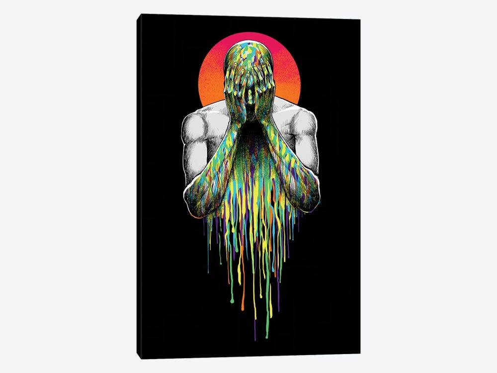 Hide by Digital Carbine 1-piece Art Print