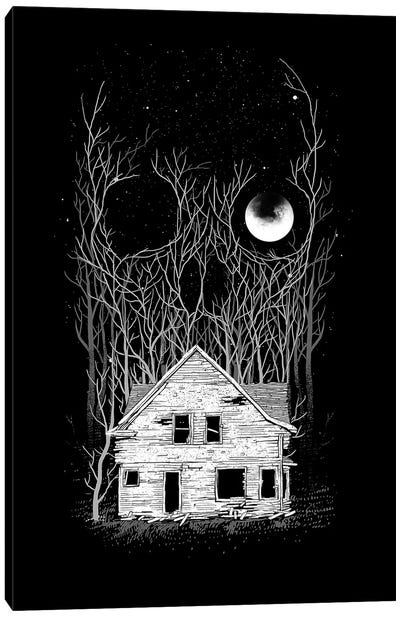 House Of Death Canvas Art Print