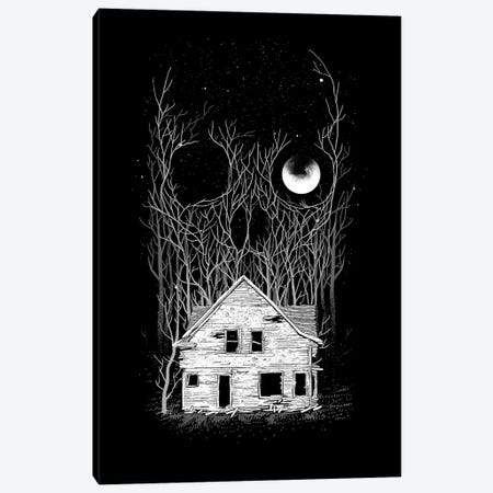 House Of Death Canvas Print #DGT26} by Digital Carbine Canvas Art Print