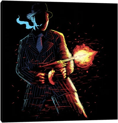 Mafioso Canvas Art Print
