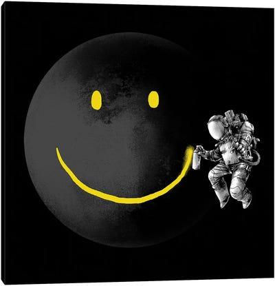 Make A Smile Canvas Art Print