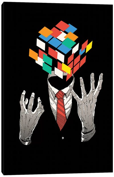 Mind Game Canvas Art Print