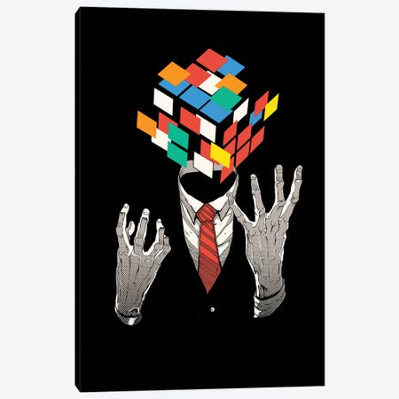 Mind Game Canvas Print #DGT31} by Digital Carbine Art Print