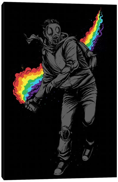 No More Tear Gas Canvas Art Print
