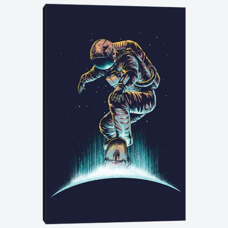 Space Grind Canvas Print #DGT42} by Digital Carbine Canvas Wall Art