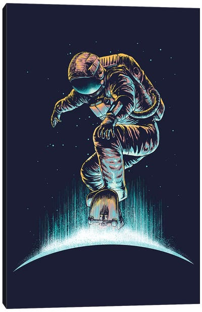 Space Grind Canvas Art Print