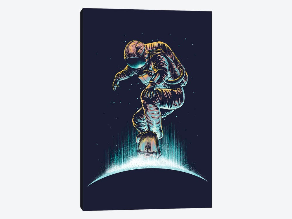 Space Grind by Digital Carbine 1-piece Art Print