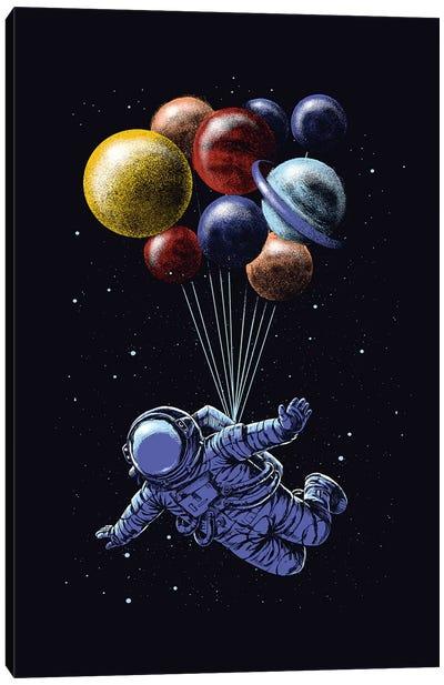 Space Travel Canvas Art Print