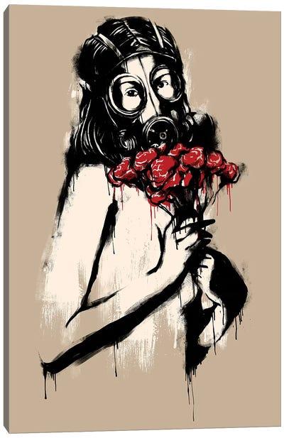 The Last Flower Canvas Art Print