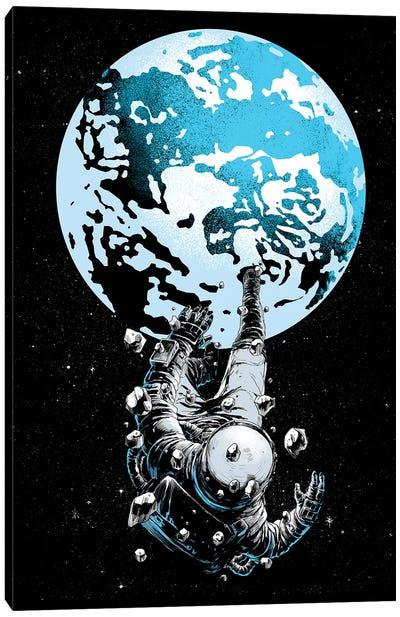 The Lost Astronaut Canvas Art Print