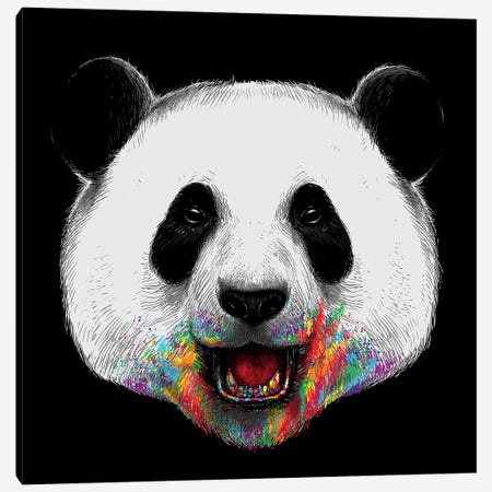 Where Is The Rainbow Canvas Print #DGT48} by Digital Carbine Canvas Artwork