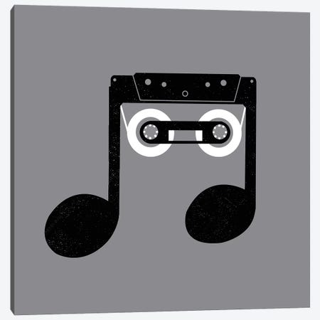 Analog Music Canvas Print #DGT4} by Digital Carbine Canvas Print