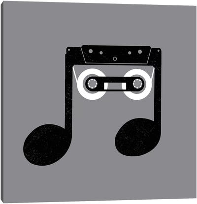 Analog Music Canvas Art Print