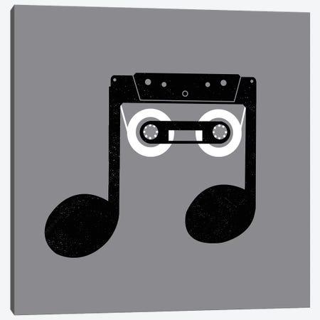 Analog Music Canvas Print #DGT4} by Digital Carbine Canvas Print