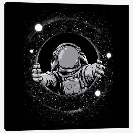 Black Hole Canvas Print #DGT5} by Digital Carbine Art Print