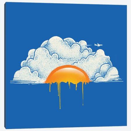 Breakfast Canvas Print #DGT7} by Digital Carbine Art Print