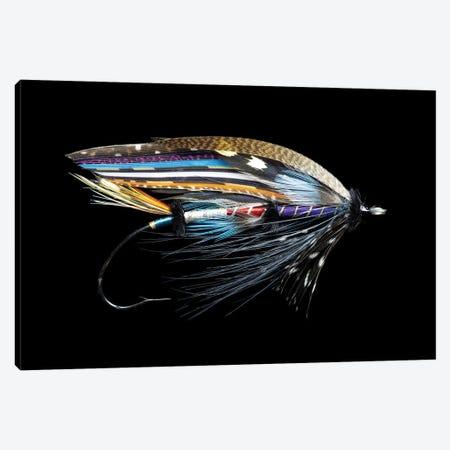Atlantic Salmon Fly designs. 'Fleming' 3-Piece Canvas #DGU171} by Darrell Gulin Canvas Artwork