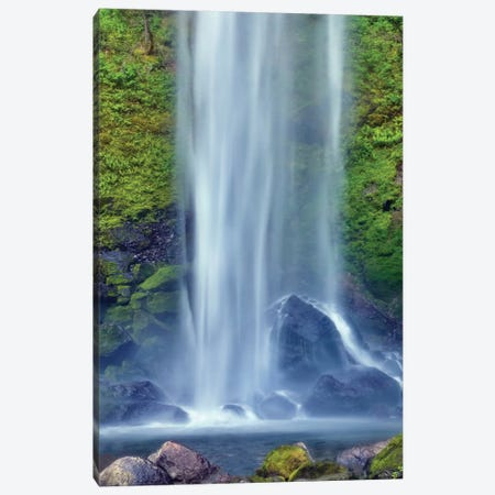 Elwha Falls Columbia River Gorge National Scenic Area, Oregon Canvas Print #DGU61} by Darrell Gulin Art Print