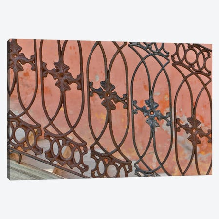 Guanajuato in Central Mexico. Buildings with fancy ironwork Canvas Print #DGU72} by Darrell Gulin Canvas Wall Art