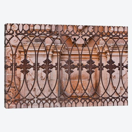 Guanajuato in Central Mexico. Buildings with fancy ironwork Canvas Print #DGU73} by Darrell Gulin Canvas Art