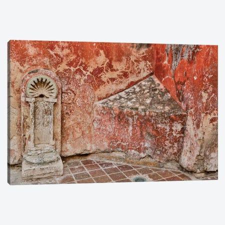 Guanajuato in Central Mexico. Old fountain Canvas Print #DGU81} by Darrell Gulin Art Print