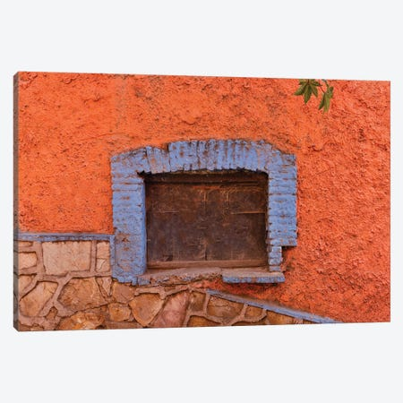Guanajuato in Central Mexico. Old shuttered window Canvas Print #DGU82} by Darrell Gulin Art Print