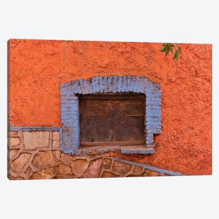 Guanajuato in Central Mexico. Old shuttered window Canvas Print #DGU82} by Darrell Gulin Art Print