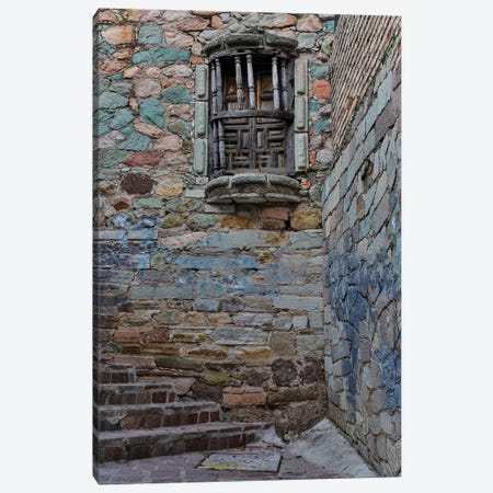 Guanajuato in Central Mexico. Small alley with stairs Canvas Print #DGU83} by Darrell Gulin Canvas Art Print