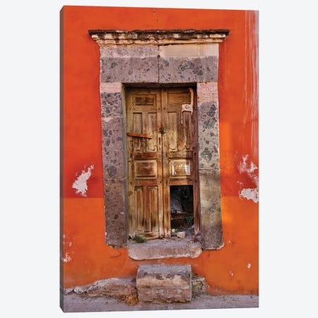 San Miguel De Allende, Mexico. Colorful buildings and doorways Canvas Print #DGU86} by Darrell Gulin Canvas Artwork