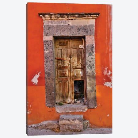 San Miguel De Allende, Mexico. Colorful buildings and doorways Canvas Print #DGU86} by Darrell Gulin Canvas Artwork