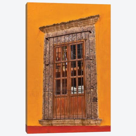 San Miguel De Allende, Mexico. Colorful buildings and windows Canvas Print #DGU89} by Darrell Gulin Canvas Print
