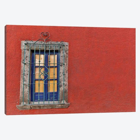 San Miguel De Allende, Mexico. Colorful buildings and windows Canvas Print #DGU90} by Darrell Gulin Canvas Art