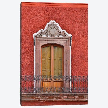 San Miguel De Allende, Mexico. Colorful buildings and windows Canvas Print #DGU91} by Darrell Gulin Canvas Artwork