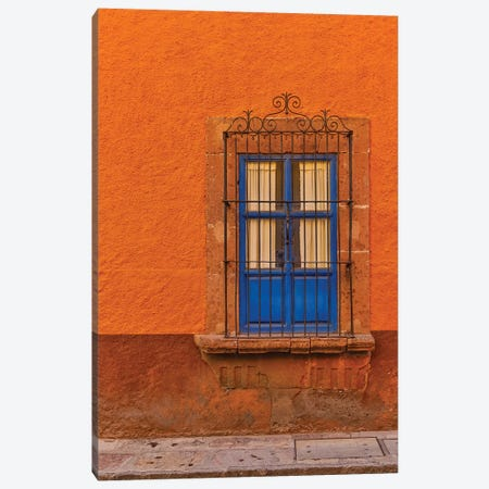 San Miguel De Allende, Mexico. Colorful buildings and windows Canvas Print #DGU92} by Darrell Gulin Canvas Artwork