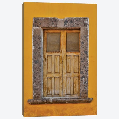 San Miguel De Allende, Mexico. Colorful buildings and windows Canvas Print #DGU94} by Darrell Gulin Canvas Print