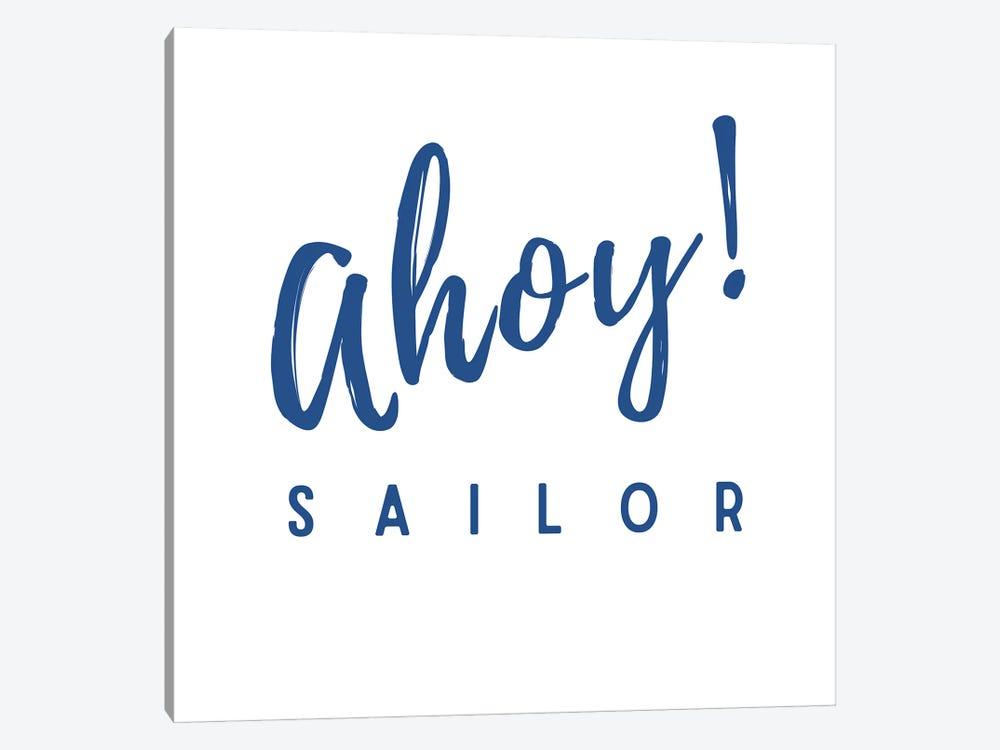 Nautical And Navy Ahoy! Sailor by Design Harvest 1-piece Art Print